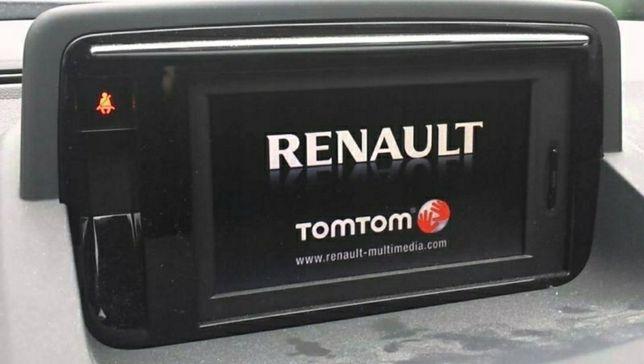 Aktualizacja map Renault Opel TomTom Carminat 1075 NEW sierpień 2021r