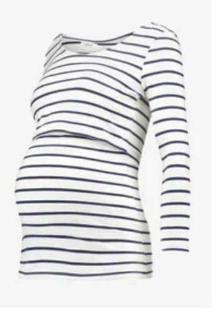 Bluzka do karmienia w paski Zalando Maternity