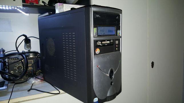 Zestaw komputerowy do gier 4x3,5Ghz, 12gb Ram, 2gb z monitorem Samsung