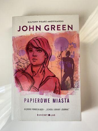 "Książka ""Papierowe miasta"" John Green"