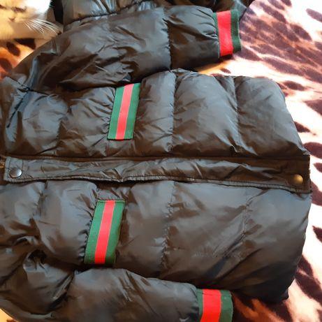 Пуховик Гуччи пальто куртка