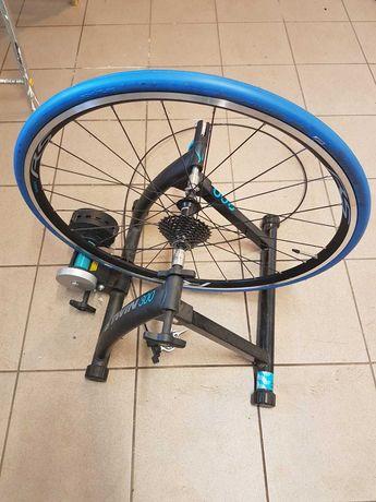trenażer rowerowy + koło + kaseta