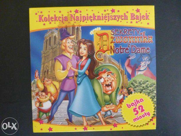 Bajka VCD - Sekrety Dzwonnika z Notre Dame