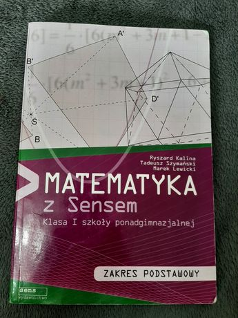Matematyka z sensem I zakres podstawowy