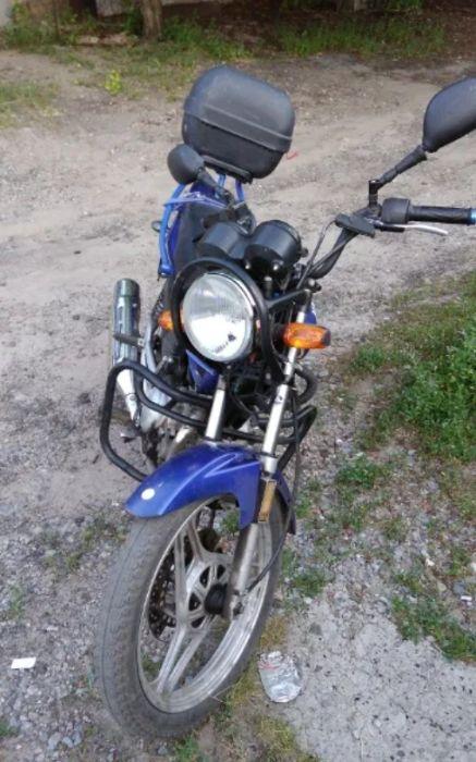 Мотоцикл Yamaha YBR 125. Ябрик. Мот дорожный Славянск - изображение 1