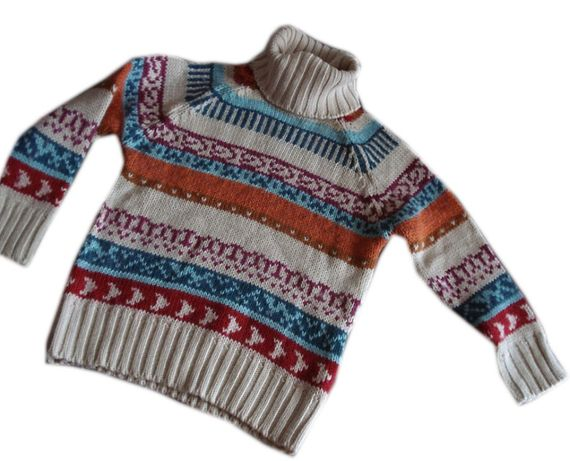 Golf sweter we wzory Zara