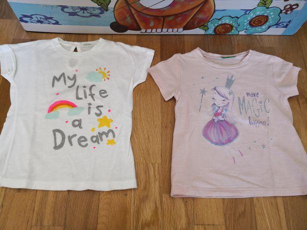 Duas T-shirts da Benetton 18/24meses