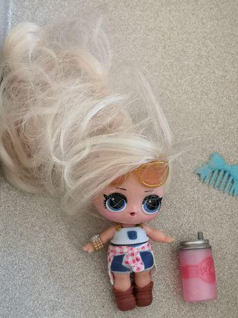 Lalka LOL SURPRISE długie włosy w zestawie z butelką