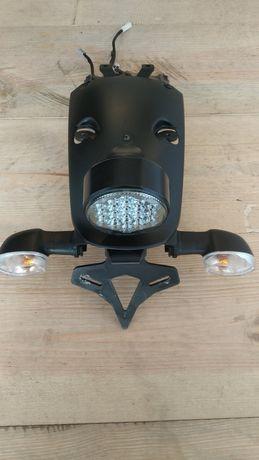 Yamaha xsr700 mocowanie tablicy nadkole lampa kierunki