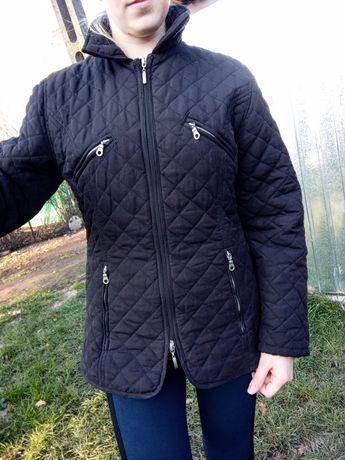 Czarna kurtka pikowana rozmiar M 38