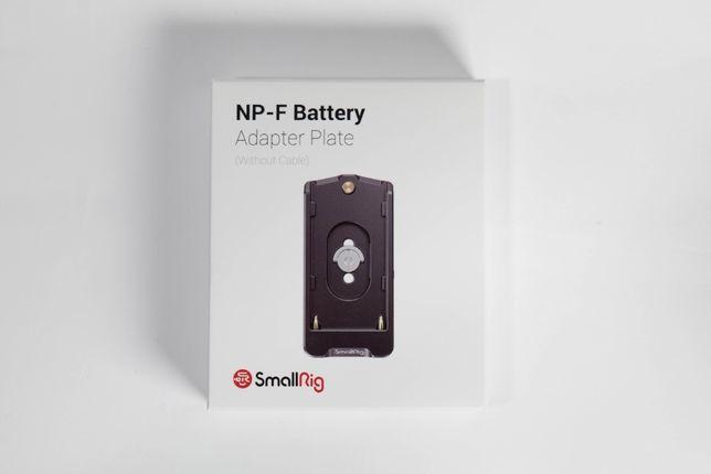 Адаптер живлення SmallRig 2504 під батареї Sony NP-F (EB2504) 7,4В 12В
