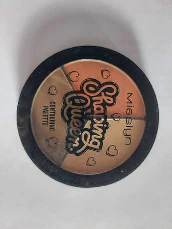 Палетка для лица misslyn shaping queen contouring palette