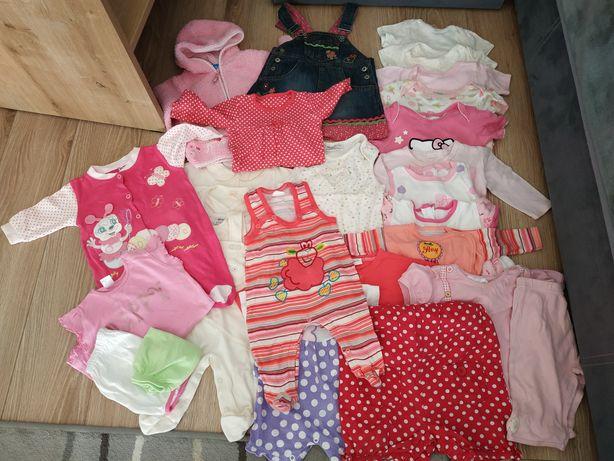 Ubranka dla dziewczynki r. 62-68