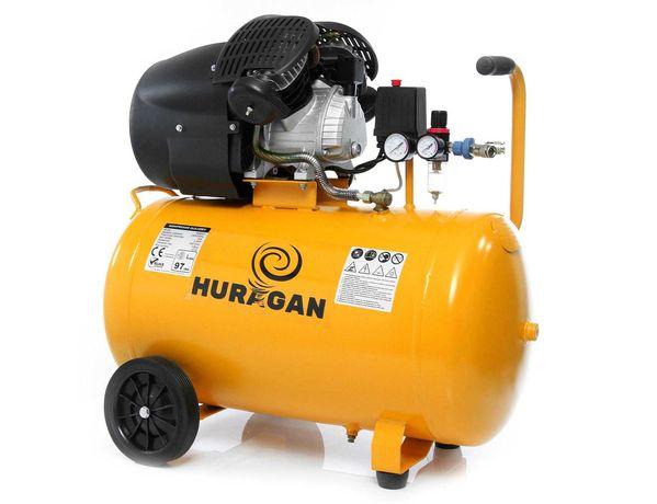 Kompresor 100L Huragan nowy