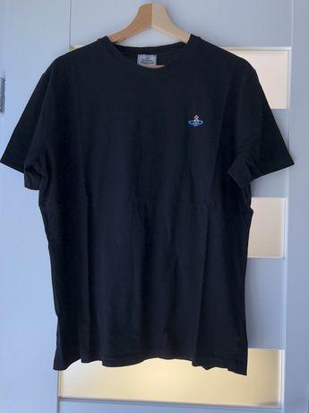 Czarna koszulka Vivienne Westwood