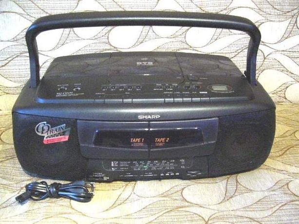 """"""" Kombajn """" SHARP WQ-CH 450 CD x 5, dubing kaseta ."""