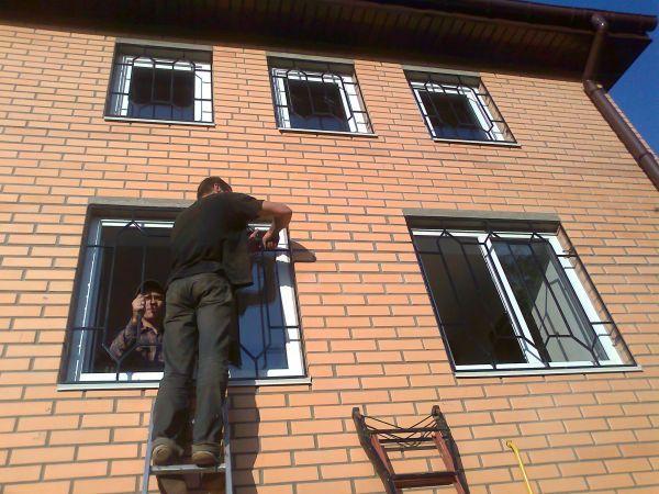 Решетки на окна, балкон, двери. Сварные. Кованые. Доставим. Установим