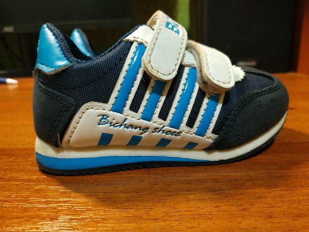 Детские кроссовки B&G фирменные, кожаные
