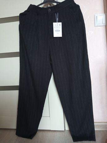 Модные брюки женские Pull&bear, 36 р.
