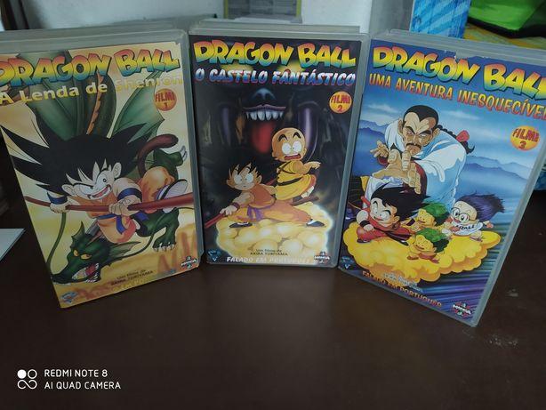 Cassetes VHS Filmes Dragonball