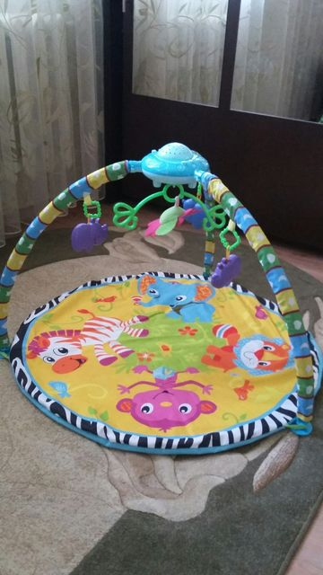 Детский развивающий коврик игровой розвиваючий центр