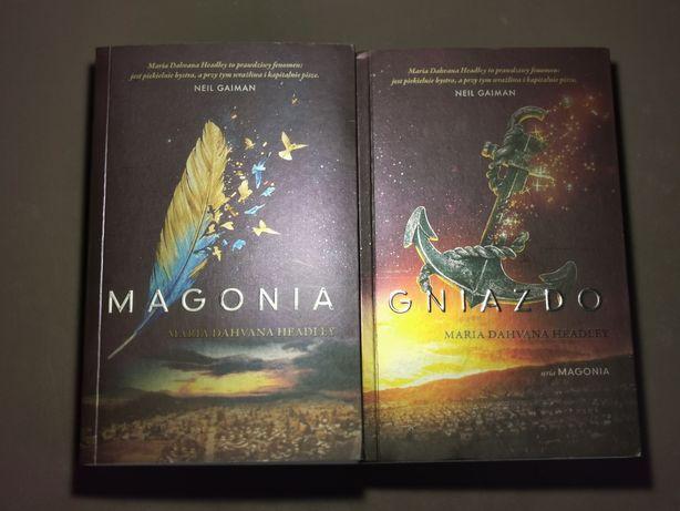 Sprzedam książki fantazy Magonia i Gniazdo