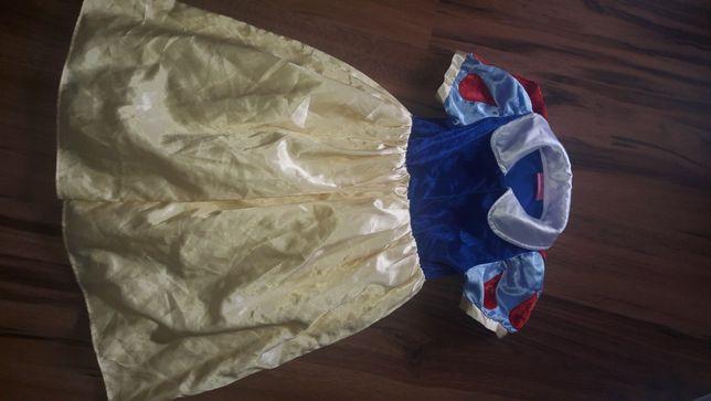 Królewna Śnieżka bal karnawałowy strój bal przebierańców r 104/110