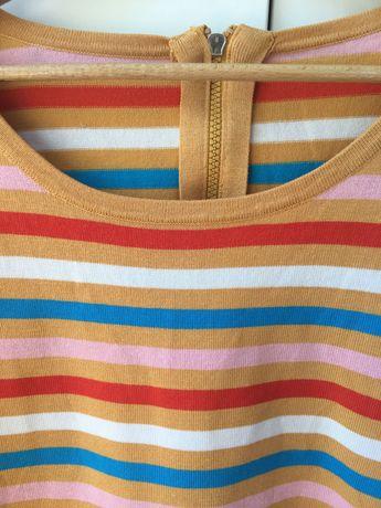 Bluzka w kolorowe paski rozmiar M