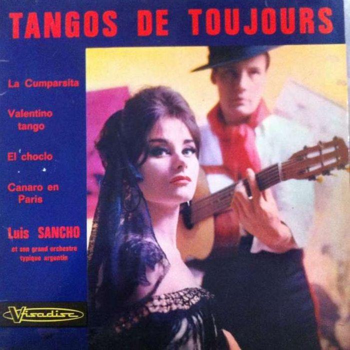 Tangos de Sempre - EP Vinil Paranhos - imagem 1