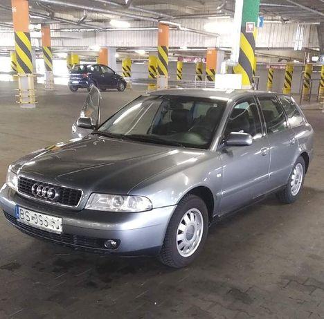 Sprzedam Audi A4 B5 Kombi 1.6 benzyna + gaz, 2000 r, ważne OC i przegl