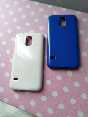 Etui niebieskie i białe (Ecru) goospery Samsung Galaxy S5