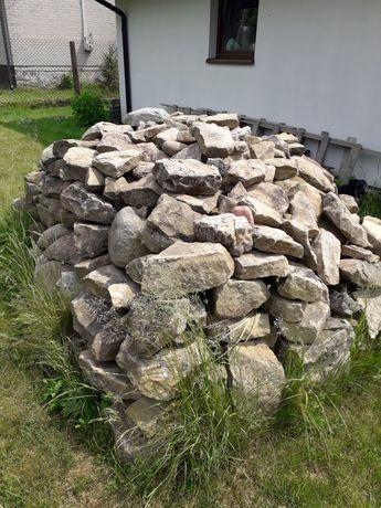 Kamień polny piaskowiec głaz na skalniak grill