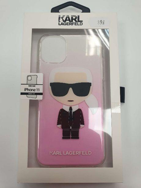 Etui KARL LAGERFELD iPhone 11 Iconic Karl Gradient KLHCN61TRDFKPI