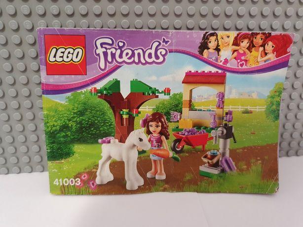 Лего Friends   оригинал 41003 - Новорожденная лошадка Оливии