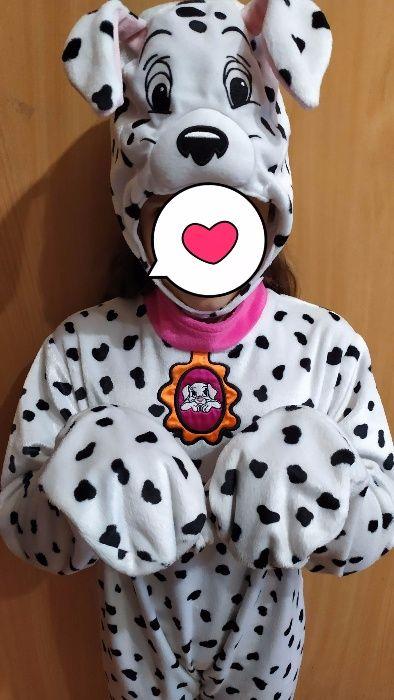 M&S новогодний костюм далматинца собачки слип для девочки 6-8 лет. Запорожье - изображение 1