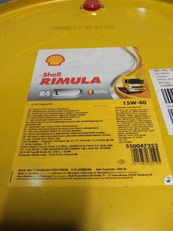 Olej silnikowy SHELL Rimula R4L 15W-40-BECZKA lub na litry