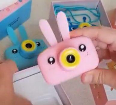 Фотоаппарат Детский цифровой Children's Fun Camera фронтальная и селфи