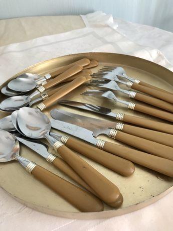Посуда для пикника,вилки ложки винтаж
