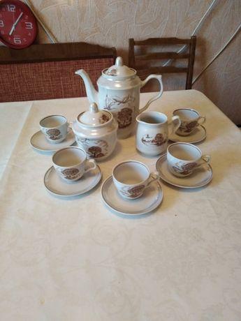 чайный сервиз времен СССР