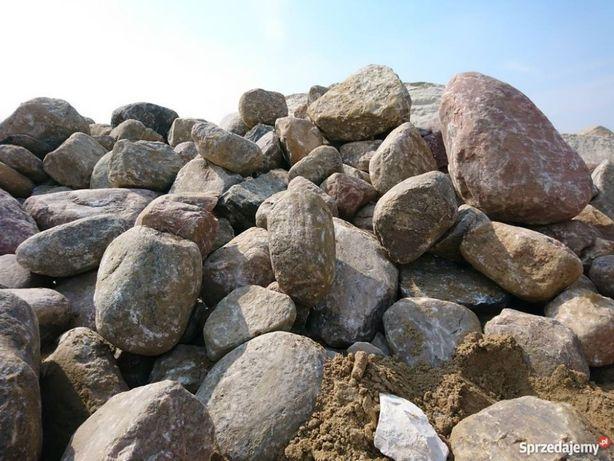 Kamienie polne duże głazy ładne około 40 ton kamieni