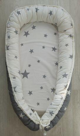 Кокон для новорождённого,гнездышко, ортопедическая подушка детская
