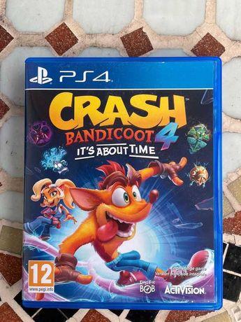 Crash Bandicoot 4 Najwyższy Czas / PS4 / PL / BDB