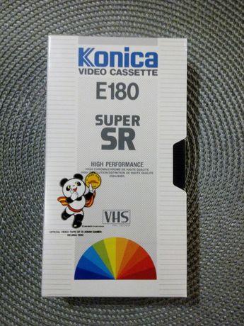 Kaseta video VHS KONICA magnetowid E 180