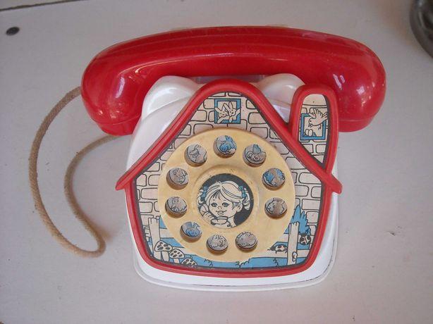 Telefone antigo brinquedo mealheiro
