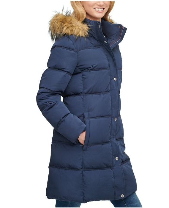 Зимняя куртка Tommy Hilfiger XS пуховик пальто Calvin Klein Michael Киев - изображение 1
