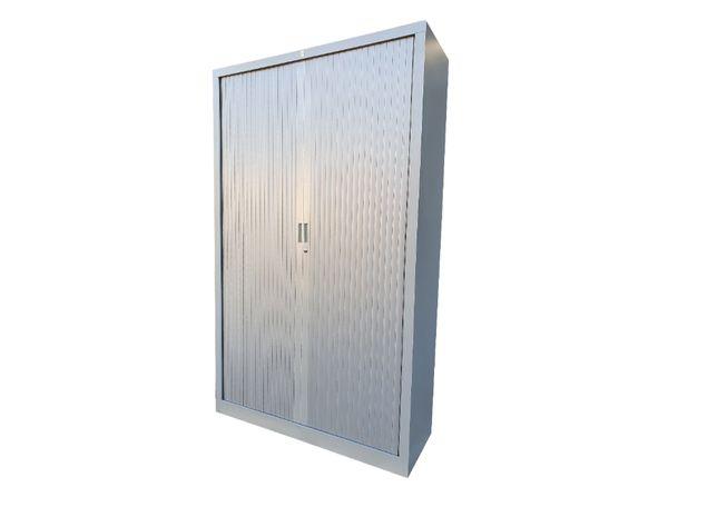 Używane szafy roletowe metalowe 198x120x42 cm