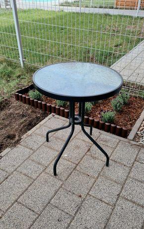 Stolik ogrodowy szklany