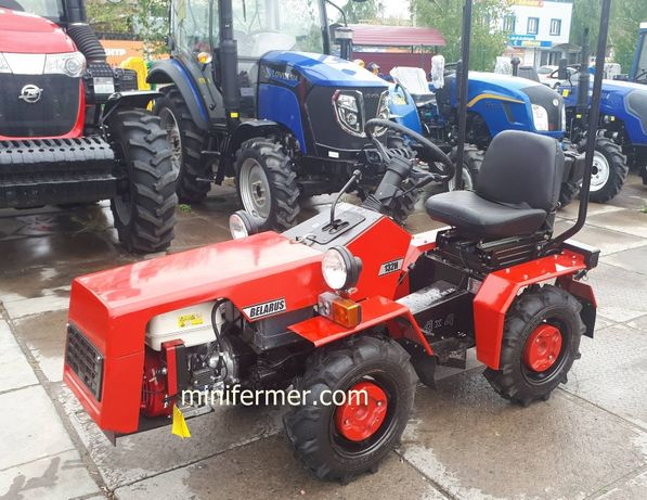 Мини трактор МТЗ Беларус-132 Новый
