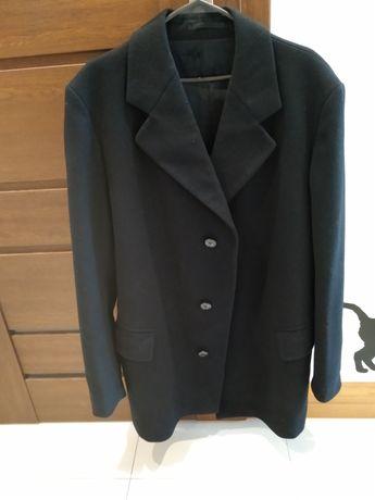 Płaszcz wełniany jesienny zimowy kurtka L