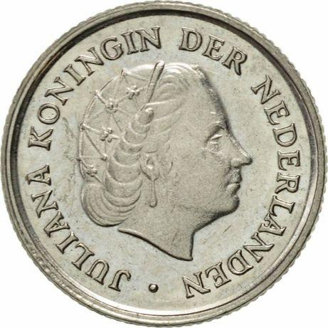 Holandia, Juliana, 10 centów, 1972